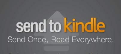 send-to-kindleで文書をKindleで読む